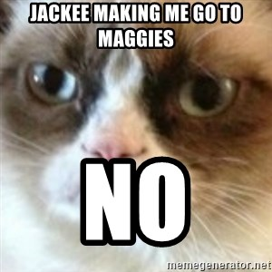 angry cat asshole - Jackee MakinG me Go to magGies  NO
