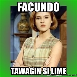 Donya Angelica - FACUNDO Tawagin si lime