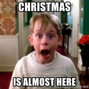 home alone - Christmas is almost here