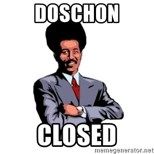 Pool's closed - Doschon closed