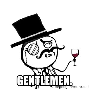 Gentleman with wine - gentlemen.