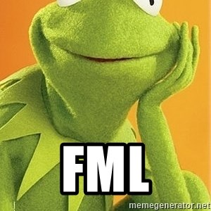 Kermit the frog - fml