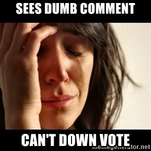crying girl sad - Sees dUMB COMMENT  CAN'T DOWN VOTE