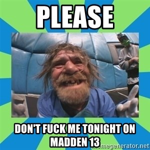 hurting henry - please don't fuck me tonight on madden 13