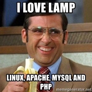 I love lamp - I love lamp Linux, apache, mysql and php