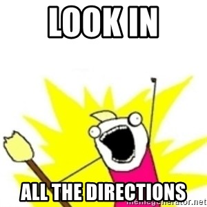 x all the y - Look in All the Directions