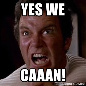 Khan - YES WE CAAAN!