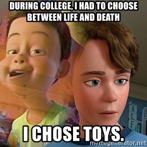 PTSD Andy - During college, I had to choose between life and death I chose toys.