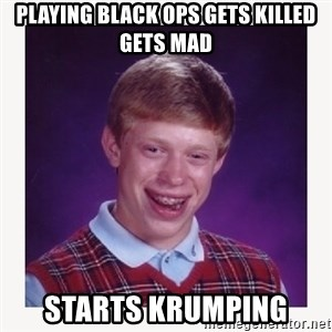 nerdy kid lolz - PLAYING BLACK OPS GETS KILLED GETS MAD STARTS KRUMPING