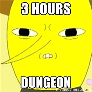 LEMONGRAB - 3 HOURS DUNGEON