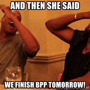Jay-Z & Kanye Laughing - AND THEN SHE SAID WE FINISH BPP TOMORROW!