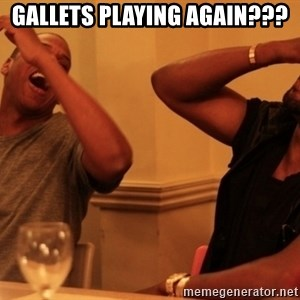 Jay-Z & Kanye Laughing - GALLETS PLAYING AGAIN???