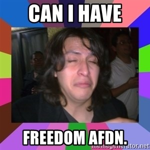chan chan  - Can i have  freedom AFDN.