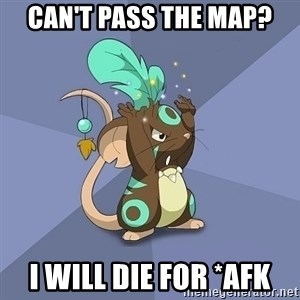 Transformice Shaman :D - can't pass the map? i will die for *afk