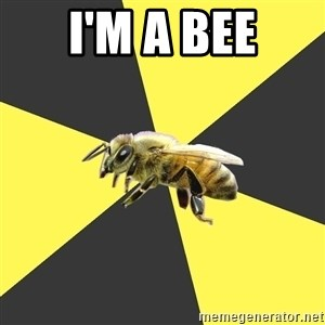 British High School Honeybee - I'M A BEE