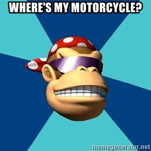 Funkykong - Where's my motorcycle?
