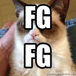 Grumpy Cat Face - fg fg