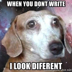 tristolla  - When you dont write i look diferent