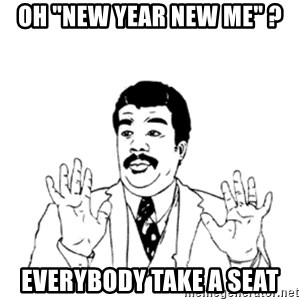 "aysi - OH ""NEW YEAR NEW ME"" ? EVERYBODY TAKE A SEAT"