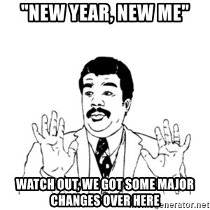 """aysi - """"New year, New me"""" watch out, we got some major changes over here"""