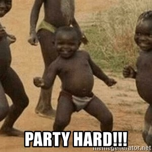 Success African Kid - PARTY HARD!!!