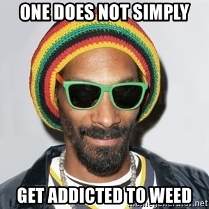Snoop lion2 - one does not simply get addicted to weed