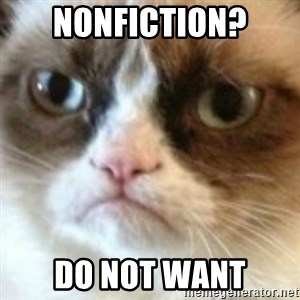 angry cat asshole - nonfiction? do not want