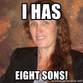 Westboro Baptist Church Lady - I HAs Eight Sons!