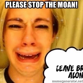 leave britney alone - please stop the moan!