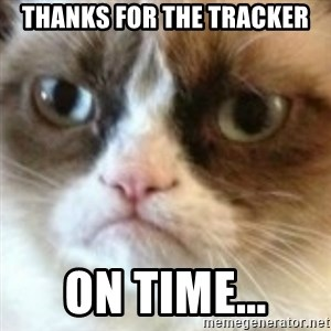 angry cat asshole - Thanks for the tracker on time...