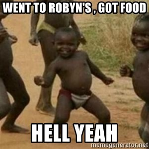 Black Kid - WENT TO ROBYN'S , GOT FOOD HELL YEAH