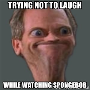 Housella ei suju - TRYING NOT TO LAUGH WHILE WATCHING SPONGEBOB