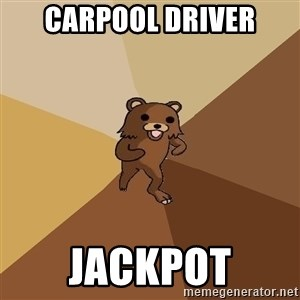 Pedo Bear From Beyond - carpool driver jackpot