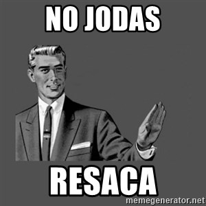 Grammar Guy - no jodas resaca