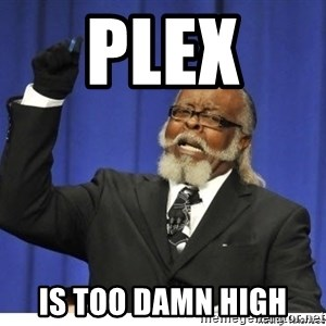 The tolerance is to damn high! - PLex  is too damn high