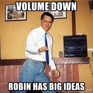 Mom Jeans Mitt - VOLUME DOWN RObin has big ideas