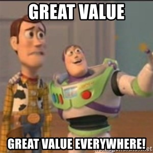 Buzz - Great Value Great Value everywhere!