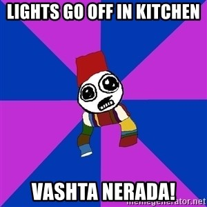 Doctor Who Addict - lights go off in kitchen vashta nerada!