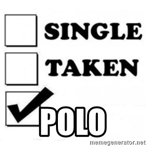 single taken checkbox - POLO