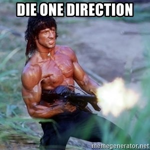 Rambo - die one direction