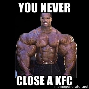 Giga Nigga - You never close a kfc