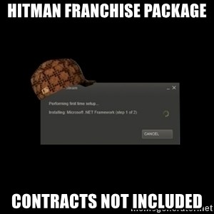 Scumbag Steam - Hitman franchise package Contracts not included