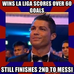 CR177 - WINS LA LIGA SCORES OVER 60 GOALS  STILL FINISHES 2ND TO MESSI
