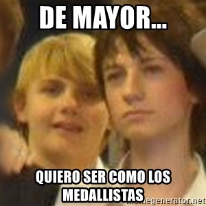 Thoughtful Child - de mayor... quiero ser como los medallistas