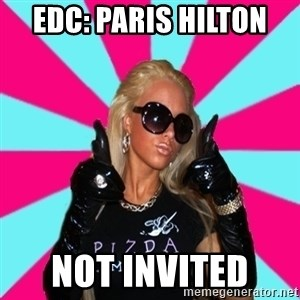Glamour Girl - EDC: PARIS HILTON  NOT INVITED