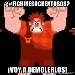 Wreck-It Ralph  - ¿#FichinesOchentosos? ¡Voy a demolerlos!
