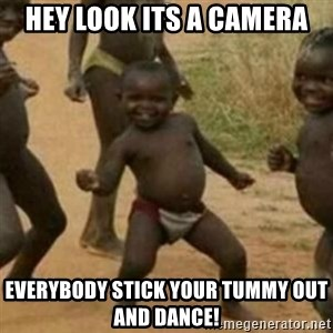 Black Kid - HEY LOOK ITS A CAMERA EVERYBODY STICK YOUR TUMMY OUT AND DANCE!
