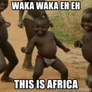 Black Kid - Waka waka eh eh this is africa