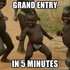 Black Kid - GRAND ENTRY IN 5 MINUTES