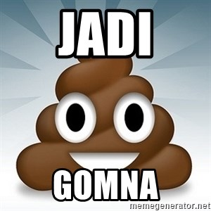 Facebook :poop: emoticon - JADI GOMNA